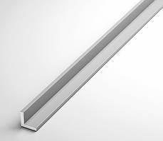 Уголок алюминиевый 100х20х2.5 анодированный