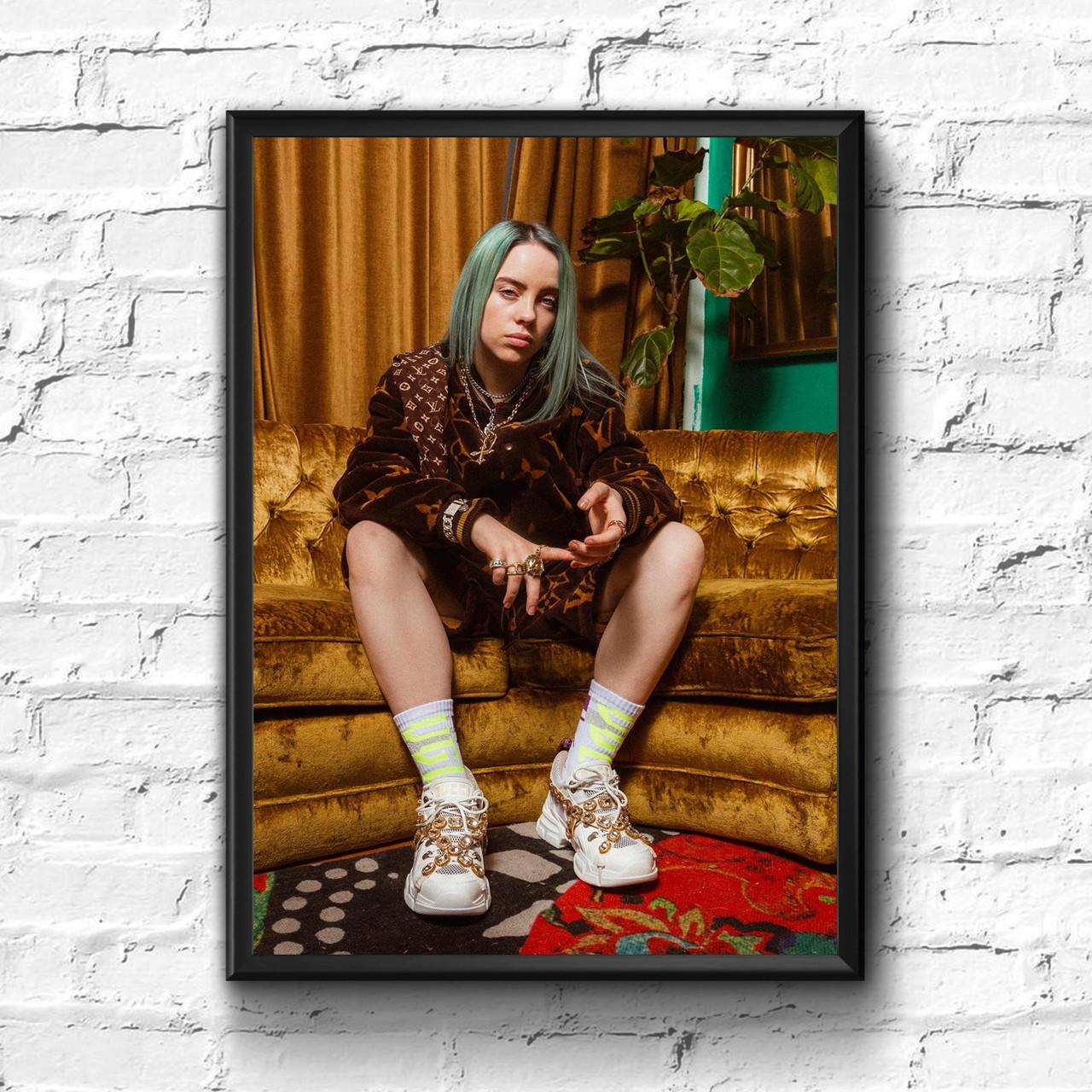 Постер с рамкой Билли Айлиш #5