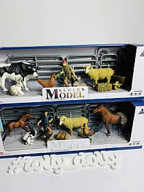 Набір домашніх тварин Ферма Q 9899-U4