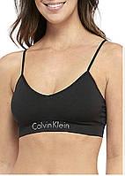 Женский оригинальный черный бралетт Calvin Klein (Размер - XL)