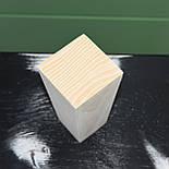 Меблеві ніжки і опори дерев'яні квадрат H. 120 D. 60-40 / Код: Ніжка-13, фото 3