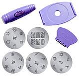 Маникюрный набор для узоров Nail Art Stamping Kit, набор для стемпинга, стемпинг TyT, фото 4