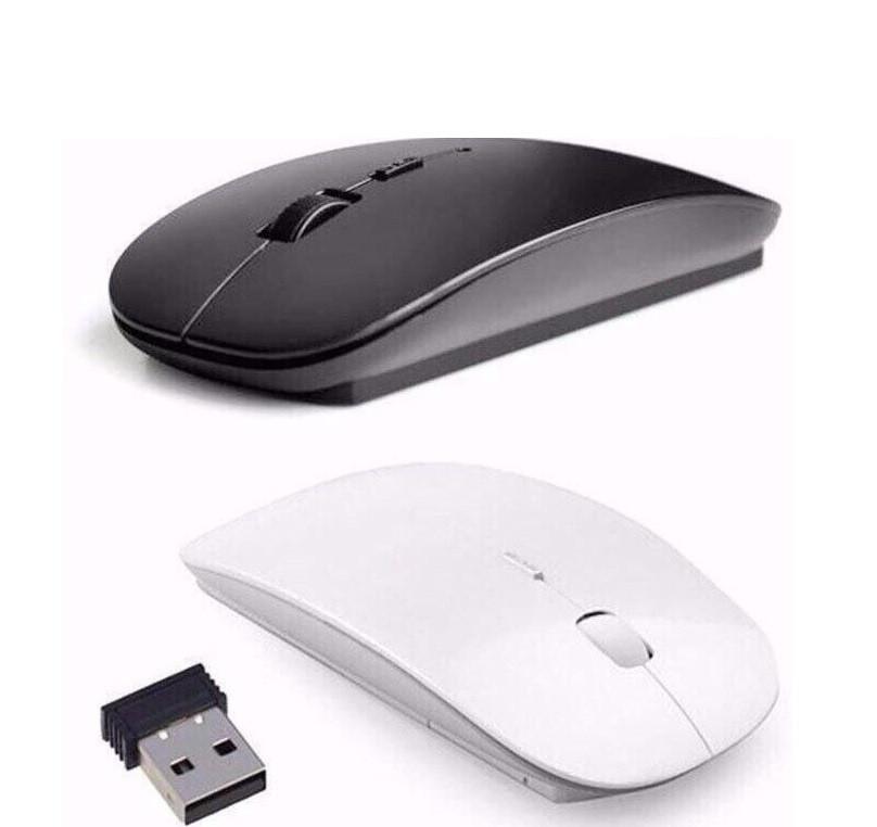 Беспроводная мышка с стиле Apple оптическая usb радио мышь TyT