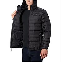 Мужская зимняя куртка (пуховик) COLUMBIA LAKE 22 DOWN HOODED  (WO0950 010)