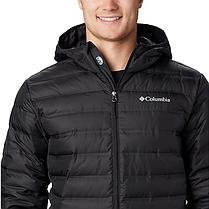 Мужская зимняя куртка (пуховик) COLUMBIA LAKE 22 DOWN HOODED  (WO0950 010), фото 3