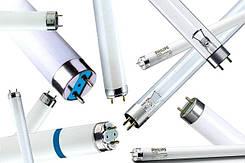 Лампы люминесцентные для аквариумов, растений, холодильников F, L, TL, TL-D