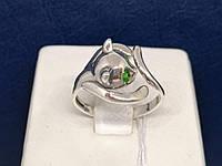 Серебряное кольцо с фианитами. Артикул 81611З* 17,5, фото 1