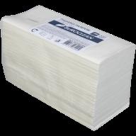 Рушники паперові целюлозні V-подібні.,200шт., Buroclean 2-х шарові, білий