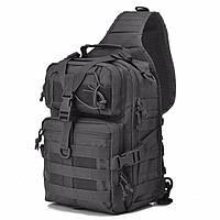 Сумка-рюкзак тактическая MHZ A92 800D 20л., черная