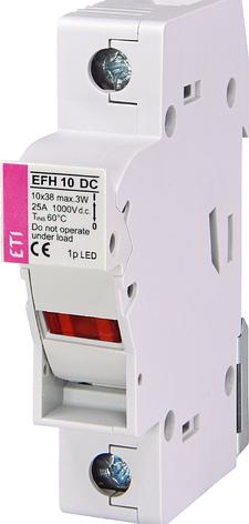 Разъединитель EFH 10 DC LED 1 полюс 2540211, фото 2