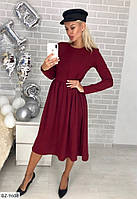 Нарядное молодежное платье миди р-ры 42-48 арт 75
