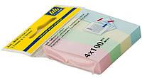 Закладки бумажные 51х12 мм,  4х100 листов, BM.2306-99 Buromax
