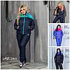 Жіночий лижний костюм Family Look Батал до 54 р 15004-1