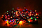 Светодиодная Гирлянда нить 101 led RGB разноцветная (черный провод) 9 м, фото 3