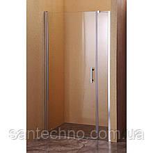 Дверь стеклянная для душа Sansa SH-708 профиль brushed/стекло прозрачное