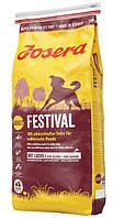 Josera Festival 15кг- гипоаллергенный корм для собак (лосось и рис)
