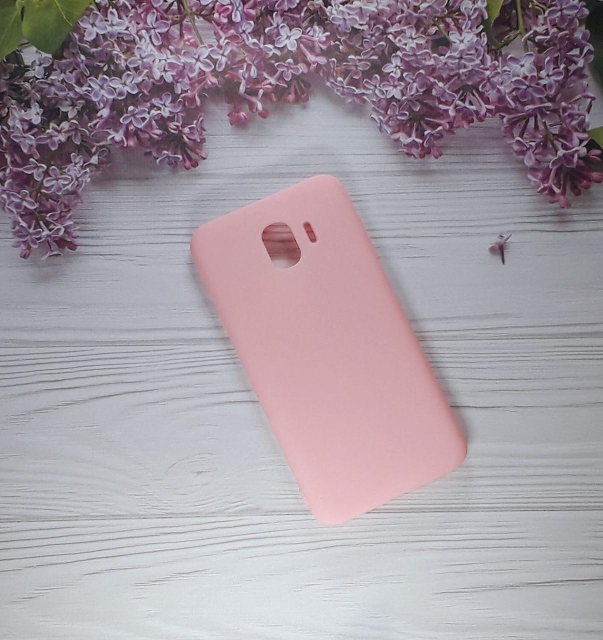 Чехол накладка на Samsung j4 (2018), J400, Pink