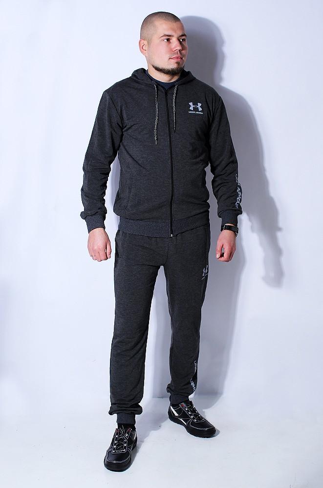 Спортивный костюм мужской серый 087