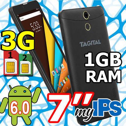 Планшет- телефон Tagital T7N (3G) 2 сим IPS 1GB\8GB  HD + Чехол в ПОДАРОК, фото 2