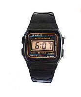 Часы электронные пластмасса Asahi  опт