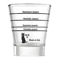 Мерный стакан Motta для приготовление кофе (эспрессо шот 80 мл.)