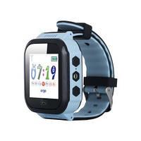 Детские часы с GPS трекером ERGO GPS Tracker Color J020 Blue