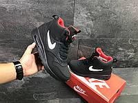 Мужские зимние кроссовки в стиле Nike Air Max 87, тёмнo-cиние 45 (28,8 см)