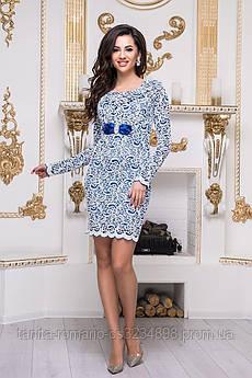 Коктейльное платье 3341e Электрик XL(р)