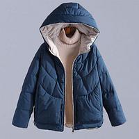 Жіноча зимова куртка з капюшоном (Е01471), фото 1