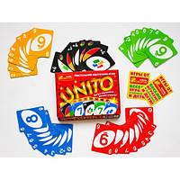"""Настольная карточная игра """"UNITO """" 12170007Р"""