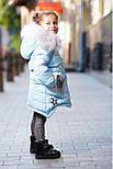 Зимнее пальто на девочку, фото 5