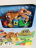 Детский конструктор JDLT 5409 Динозавры, фото 7