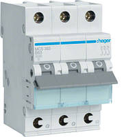 Автоматичний вимикач QC 3P 6kA C-63A 3M