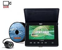 """Видео удочка Lucky FL180AR для зимней рыбалки 4.3"""" монитор, кабель 20 м, подсветка 4 ик диода, фото 1"""