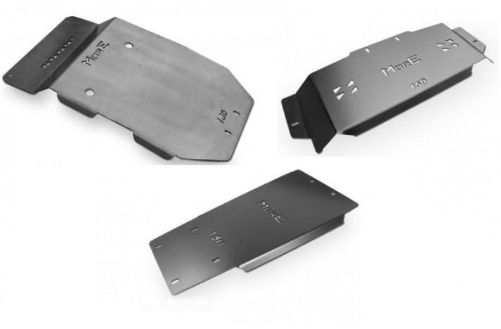 Комплект защиты двигателя и коробки MorE 4x4 - Toyota Land Cruiser J150 2014+