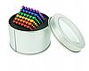 Головоломка Neocube развивающий конструктор Неокуб в боксе 216 магнитных шариков 5 мм радуга, фото 2