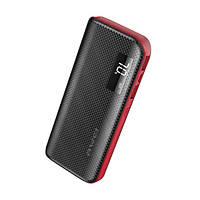 Универсальная батарея Power Bank Awei P76k LCD 10 000 mAh Black