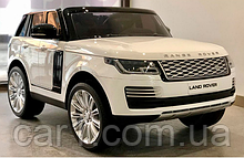 Детский электромобиль  M 4175EBLR Land Rover  белый, черный