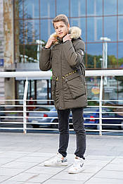 Зимняя куртка для мальчика подростка