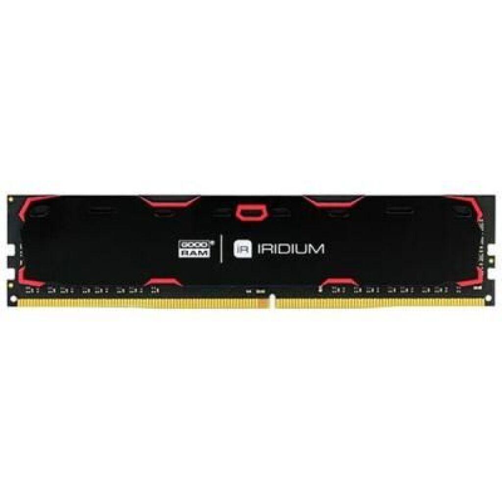 Модуль памяти для компьютера DDR4 4GB 2400 MHz Iridium Black GOODRAM (IR-2400D464L17S/4G)