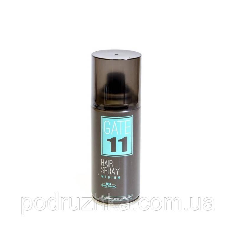 Сухой лак для волос средней фиксации Emmebi GATE 11 Hair Spray Medium, 100 мл