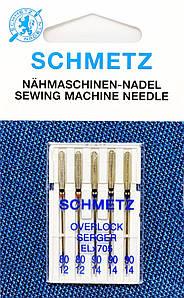 Иглы для оверлока Schmetz Overlock №80-90