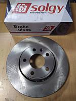 "Тормозной диск передний на Renault Trafic, Opel Vivaro 2001 -> ""SOLGY"" 208018 - производства Испании"