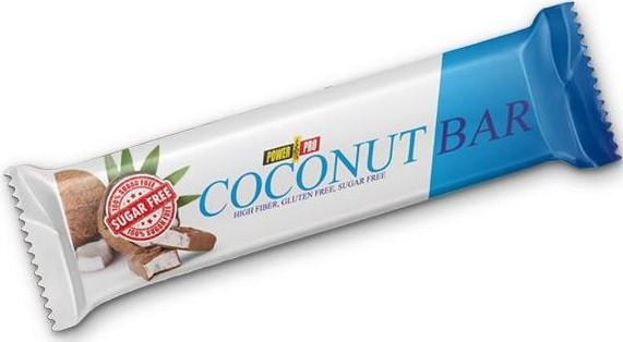 Протеиновый батончик Power Pro - Coconut Bar Sugar Free (50 грамм) кокос