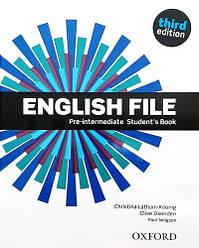 English File Third Edition Pre-Intermediate Student's Book / Учебник