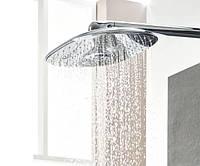 Верхний душ как интерьерное решение!