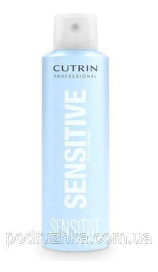 Cutrin Sensitive Dry Shampoo Освежающий сухой шампунь без отдушки, 200 мл