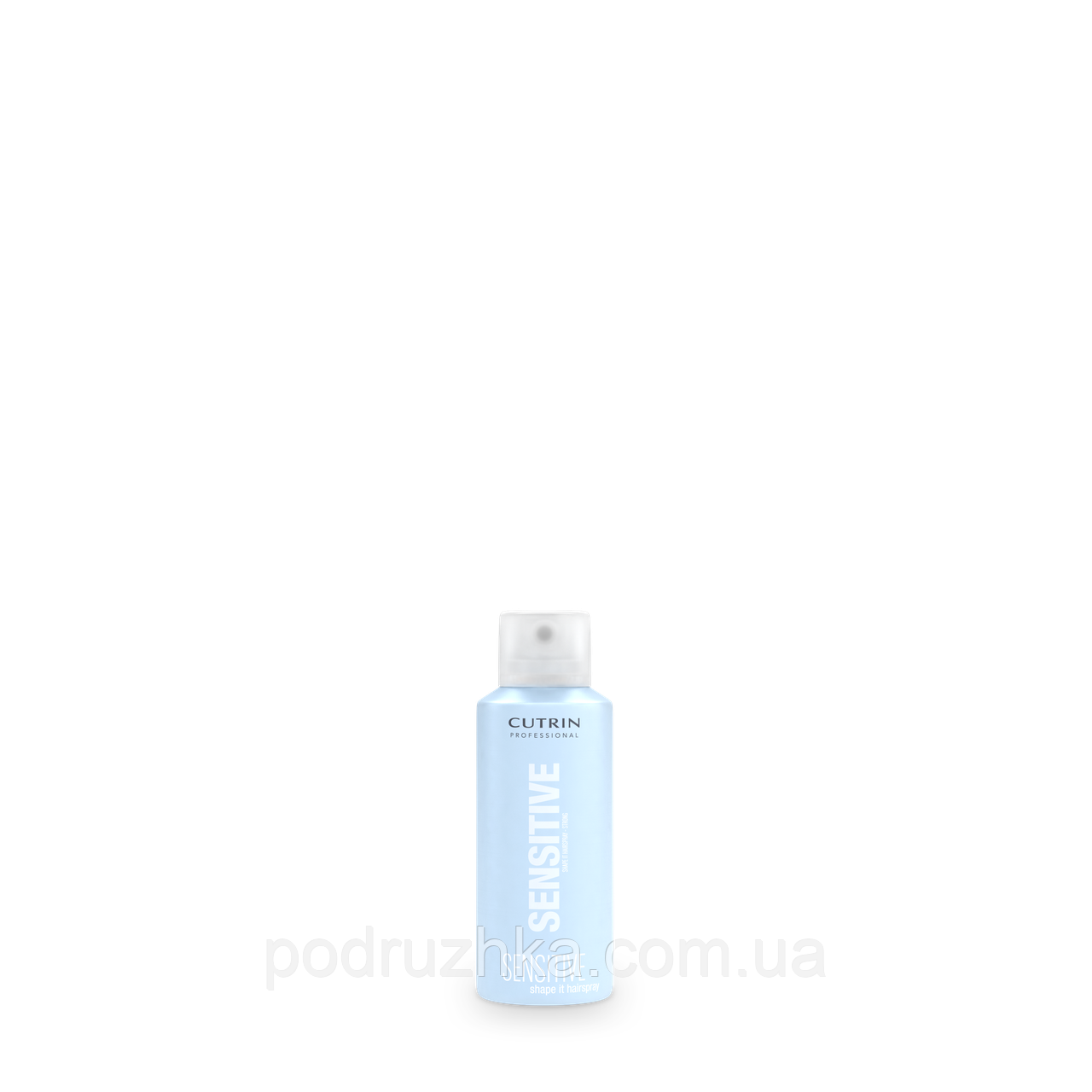 Cutrin Sensitive Shape It Hair Spray Strong No Fragrances Лак сильной фиксации без отдушки, 100 мл