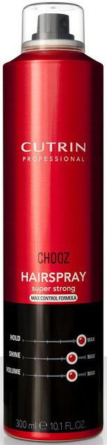 Лак экстра-сильной фиксации Cutrin Chooz Hair Spray max control formula, 300 мл