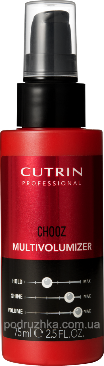 Лосьон для придания объема Cutrin Chooz Multivolumizer, 75 мл